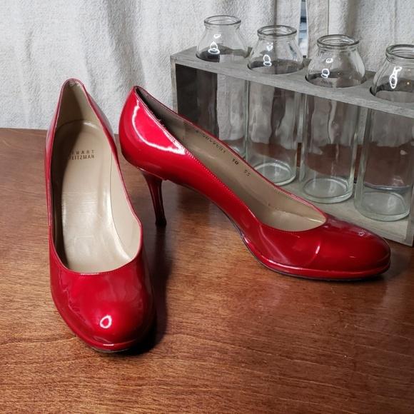 138b896abe8 Stuart Weitzman Ruby Red heels size 10
